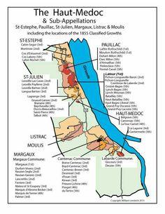 Haut Medoc wine regions Boot Camp, Sangria, Haut Medoc, Wine Paring, Mouton Rothschild, Wine Folly, Wine News, Bordeaux Wine, Wine Guide