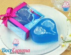 Sabonete Coração Frozen