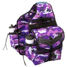 INSULATED SADDLE BAGS CAMO-pink/purple AAAAAHAHAHAHAHAHAH I NEED THESE NOOOOOOOOOOOOOWWWWWWW!!!!!!!!!!! 3