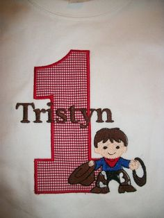 Custom boutique birthday t shirt boys cowboy western by IzzyBTees, $25.00