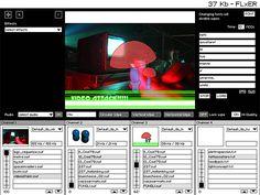 FLxER Audio Video Mixing Software Based On Adobe Flash Technology - VJs Magazine Hardware Software, Web Magazine, Adobe, Audio, Technology, Tools, Tech, Instruments, Cob Loaf