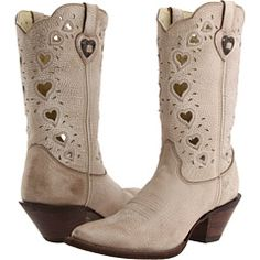 I don't usually like cowboy boots, but these are really cute and I wouldn't mind having a pair. :)