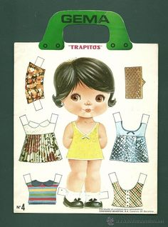 favorite Arielle Gabriel has free paper dolls at The International Paper Doll Society website! Paper Dolls Book, Vintage Paper Dolls, Vintage Crafts, Paper Toys, Paper Crafts, Japanese Artwork, Wooden Clothespins, Paper Dolls Printable, Grandma Gifts