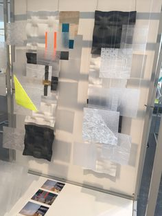 Textiles GSA degree show 2015 vacuum formed plastic