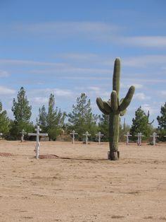 Burial ground for Greek Orthodox priests/monks in Arizona