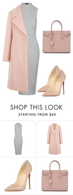 """""""Untitled #19"""" by jessica923 ❤️ liked on Polyvore featuring Topshop, Hobbs, Christian Louboutin and Yves Saint Laurent"""