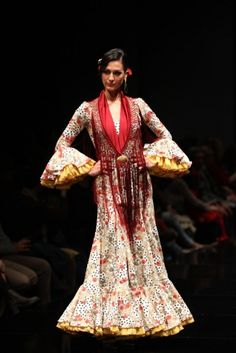 Traje de Flamenca - Arte-y-Compas - Simof-2016
