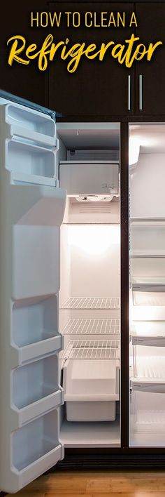 An appliance that is constantly on, being emptied and refilled, and storing food and drinks is bound to get disorganized and grubby. Stainless Steel Cleaner, Stainless Steel Refrigerator, Top Freezer Refrigerator, Deep Cleaning, Cleaning Hacks, Snack Hacks, Plastic Shelves, All Purpose Cleaners, Keep It Cleaner