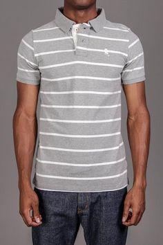 The no color Spring option. Grey Polo Shirt. Go light if you can't go bright.