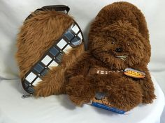 Star Wars Chewbacca Gift Set Furry Thermos Lunch Bag Box Hideaway Curl Up Pillow #DISNEYTHERMOSLUCASFILMS #LUNCHBOXTOTEBAG