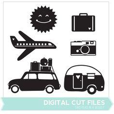 Summer Travel Cut Files