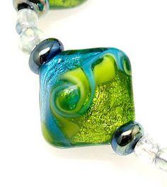 grace lampwork bead artisan handmade glass beads sra pink passion jewelry lampwork beads pinterest beads