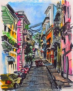 Puerto Rico. Who's been? It's crazy cause it actually looks like this! Watch the roads though they have some crazy drivers...