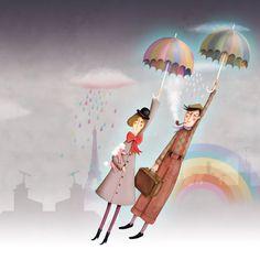 La pluie / marie desbons
