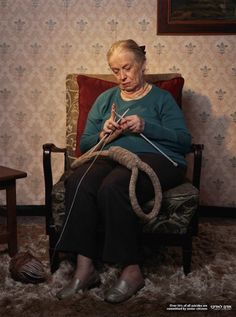 Adam Le Adam, Community For The Elderly: Hangman's noose    Over 50% of all suicides are committed by senior citizens.