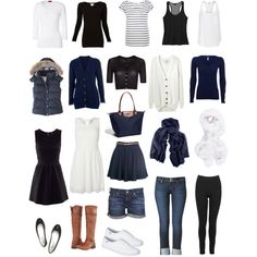 travel capsule wardrobe. Would also be a great base wardrobe.