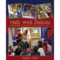 A bunch of math station ideas organized by chapter