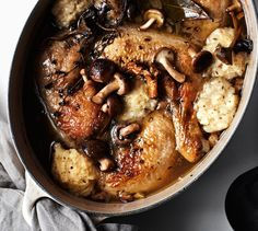 This chicken and dumpling recipe with mushrooms will become your go-to for a warming winter supper.