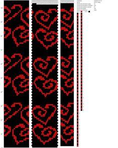 Bead Loom Patterns, Peyote Patterns, Beading Patterns, Bead Crochet Rope, Crochet Bracelet, Mochila Crochet, Beaded Necklace Patterns, Crochet Amigurumi Free Patterns, Bead Loom Bracelets