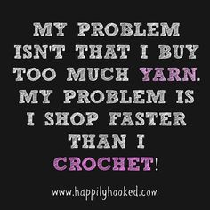 Embroidery for Beginners & Embroidery Stitches & Embroidery Patterns & Embroidery Funny & Machine Embroidery Knitting Quotes, Knitting Humor, Crochet Humor, Knit Crochet, Funny Crochet, Crochet Stitches, Crochet Mandala, Crochet Afghans, Crochet Blankets