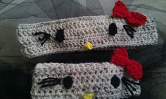 Crocheted HK headbands.