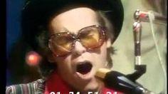 Elton John performs Philadelphia Freedom, via YouTube.