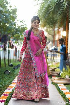 One of the most stunning lehengas I have ever seen