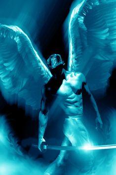 soul saviour warrior angel by axlsalles digital art drawings