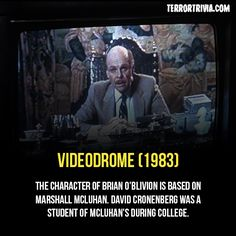 #horror #movie #videodrome #terror #trivia