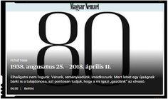 Nici bine n-a castigat Orban, ca s-a si inchis ziarul Magyar Nemzet? Adica asta e chiar o pura intamplare? Nici sorosistilor nu le va fi bine! Lululemon Logo, Logos, Logo