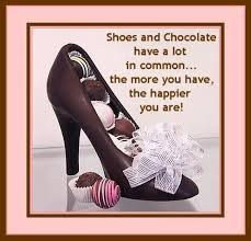 Shoes and chocolate have a lot in common.the more you have, the happier you are. Chocolate Quotes, Chocolate Pictures, I Love Chocolate, Chocolate Heaven, Chocolate Shop, Best Quotes, Life Quotes, Inspiring Quotes, Inspirational