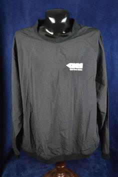 Holloway Men's 3XL XXXL Black Nylon Pullover Jacket  #Holloway #Pullover