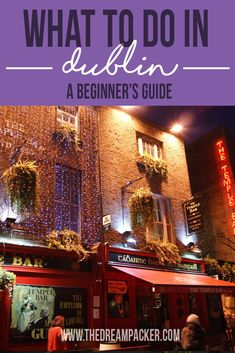 What to do in Dublin? A complete guide for first timers! what to see, where to eat and how to spend a great weekend in Ireland's capital. European Travel Tips, European Vacation, Europe Travel Guide, European Destination, Travel Guides, Scotland Travel, Ireland Travel, Dublin Travel, Places To Travel