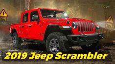 2019 Jeep scramble (wrangler based Pickup truck) | illustrations from a Jeep forum The #2019jeepscrambler pickup is set to make its debut later this year and we hope it'll look a lot like this. #2019jeepscramblerpickup  These renderings come to us from JeepScramblerForum.com #2019jeepscramblerimage and they're the perfect thing to hold us over until we see the real thing in late 2018 #2019jeepscramblerinterior.  #2019jeepscramblerforsale The people at the forums say these drawings are based…