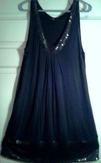 Womans Express top/dress size Large