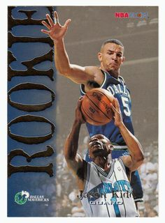 Jason Kidd RC # 317 - 1994-95 Skybox Hoops Basketball NBA Rookie