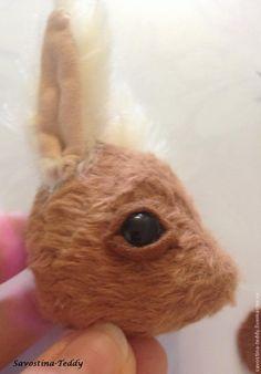 Оформление глазок бельчонка тедди - Ярмарка Мастеров - ручная работа, handmade