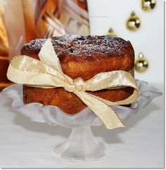 Gizi-receptjei: Panettone. (Olasz karácsonyi kuglóf) Xmas Dinner, Italian Recipes, Italian Foods, Winter Food, Pound Cake, Cakes And More, Panna Cotta, French Toast, Sweets