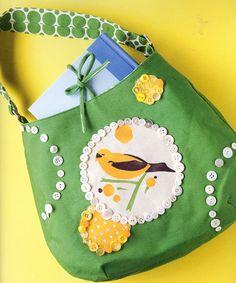 Bolsa con botones Diy Buttons, Button Crafts, Fascinator, Coin Purse, Ideas, Decor, Bag, Manualidades, Headdress