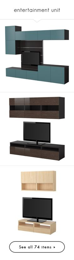 """""""entertainment unit"""" by coralkahler ❤ liked on Polyvore featuring home, furniture, storage & shelves, entertainment units, storage shelves, storage shelf, display shelves, storage shelving unit, media storage cabinet and colored furniture"""
