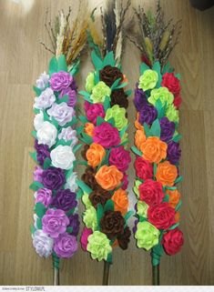 Paper Flowers, Origami, Decoupage, Rose, Spring, Jewelry, Picasa, Paper, Easter Activities