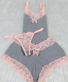 Jolie Lingerie, Lace Lingerie Set, Pretty Lingerie, Women Lingerie, Beautiful Lingerie, Cute Sleepwear, Sleepwear Women, Pajamas Women, Lingerie Sleepwear