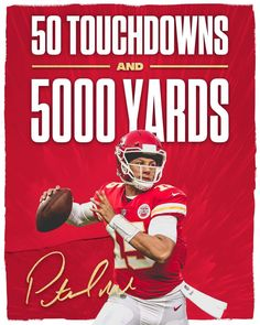a081c3fee63 Patrick Mahomes!!! Setting records 12/30/18 Chiefs Kingdom. 2nd