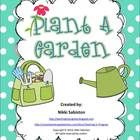 This freebie contains a cut and paste sheet for plant parts, a cut and paste for plant needs, two garden/plant picture dictionary pages and a writi...