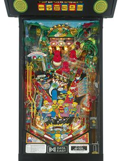 'The Simpsons' data east pinball machine, circa 1990 | lot | Sotheby's