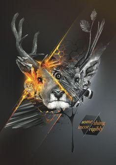 Graphic Design (2011 / 2012) by Danylo Khorzhevskyi, via Behance