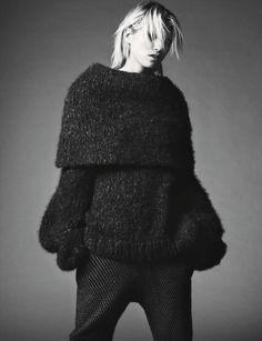 "blankforblack: "" Grosse Freiheit Vogue Germany November 2014 Photographer: Nick Dorey Model: Hana Jirickova """