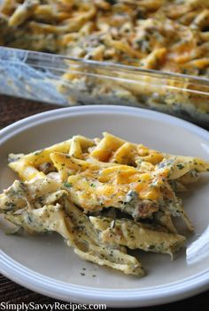 Cheesy Chicken Ranch Casserole - I followed the recipe, except for putting more cheese on top and baking it for the last 10-15 minutes.