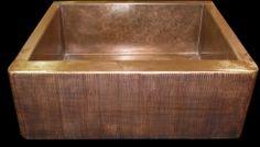 Copper sink