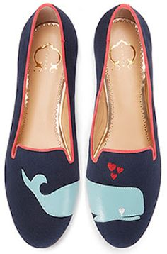 Oh.my.gosh.  These are ADORABLE!!  Whale smoking slippers! http://rstyle.me/n/etea3nyg6